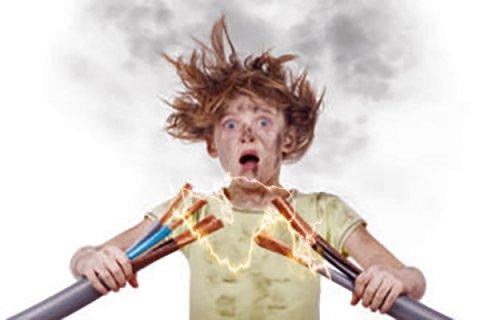 Воздействие электрического тока на организм человека